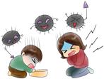 突然の嘔吐・発熱は胃腸炎?1歳半の娘の症状例と家族感染