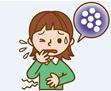 ウイルス性胃腸炎の感染防止のイロハと正しい嘔吐物処理法