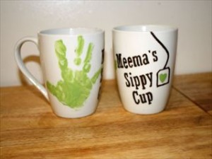 マグカップ 手形